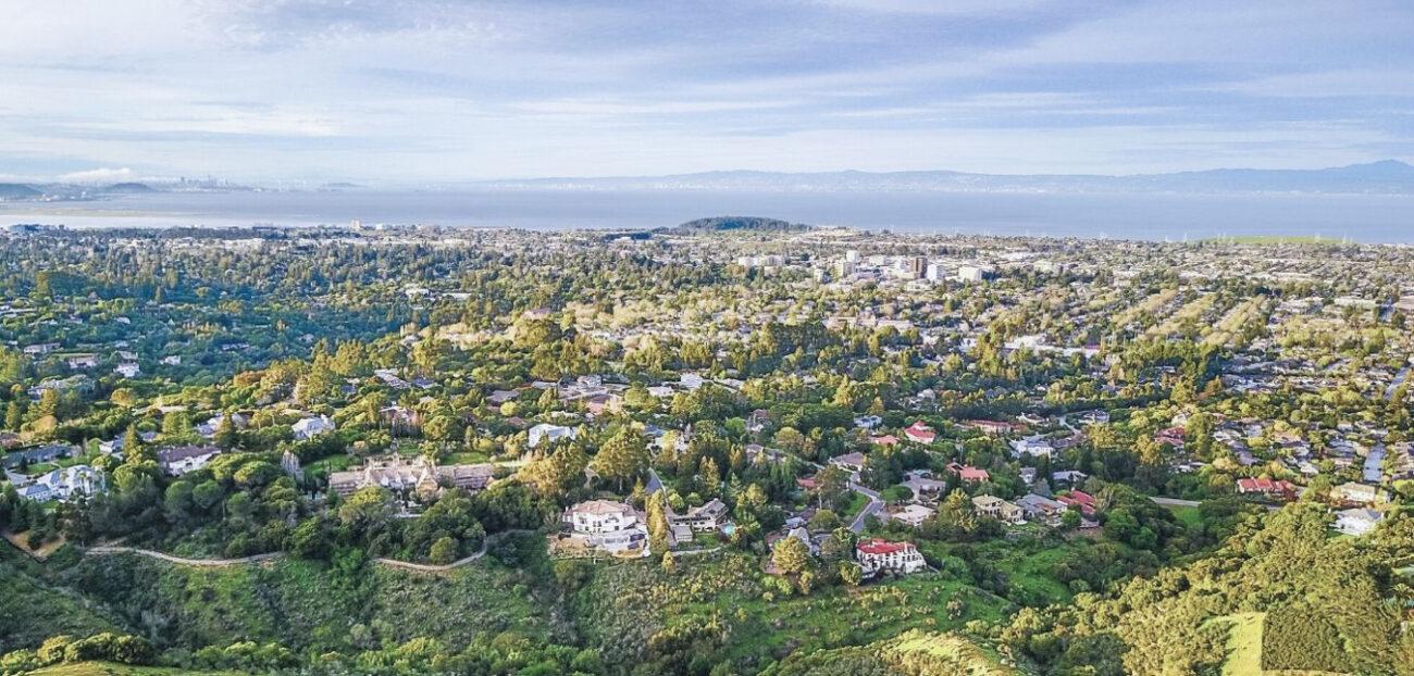 San Mateo Aerial View